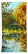 Colorful Dreams Bath Towel