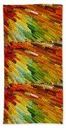 Colorful Extrude 2 Bath Towel