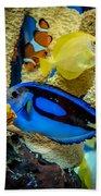Colorful Fish Bath Towel