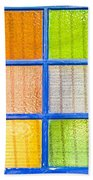 Colorful Glass Bath Towel
