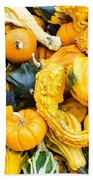 Colorful Gourds  Hand Towel