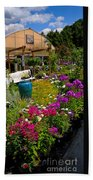 Colorful Greenhouse Bath Towel