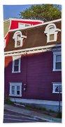 Colorful Homes In Saint John's-nl Bath Towel