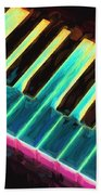 Colorful Keys Bath Towel