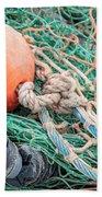 Colorful Nautical Rope Bath Towel
