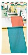 Colorful Roofs Bath Towel