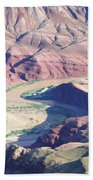 Colorodo River Flowing Through The Grand Canyon Bath Towel