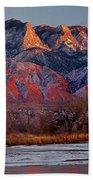 214501-colors Of Sandia Crest  Bath Towel