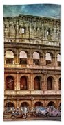 Colosseum Rome Bath Towel
