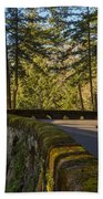 Columbia River Gorge Highway Bath Towel