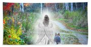 Come Walk With Me Hand Towel