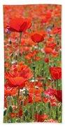 Commemorative Poppies Bath Towel