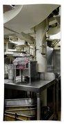 Commercial Kitchen Aboard Battleship Bath Towel