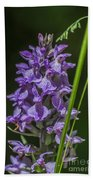 Common Spotted Orchid Bath Towel
