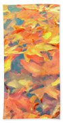 Computer Generated Image Of Autumn Bath Towel
