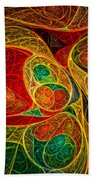 Conception Abstract Bath Towel