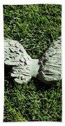 Concrete Angel Bath Towel