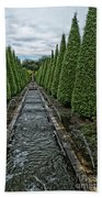 Conifer Lined Water Feature Bath Towel