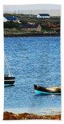 Connemara Boats Bath Towel