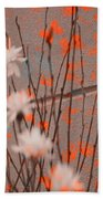 Contemporary Art - Butterfly Kisses - Luther Fine Art Bath Towel