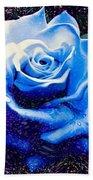 Contorted Rose Bath Towel