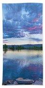 Coot Lake View Bath Towel