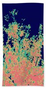 Coral Reef Abstract Bath Towel