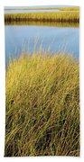 Cordgrass And Marsh, Southern Bath Towel