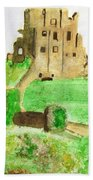 Corfe Castle Bath Towel