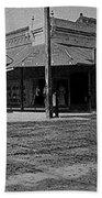 Corner Of Stone And W. Congress Street 180 Degrees Panorama Tucson Arizona C.1905 Bath Towel