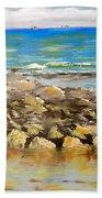 Corrimal Beach Near Towradgi Rook Pool Bath Towel