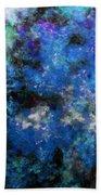 Corrosion Bleue Bath Towel