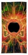 Cosmic Butterfly Phoenix Bath Towel by Shawn Dall