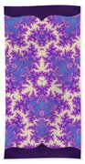 Cosmic Dragonfly Bath Towel