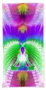Cosmic Spiral Ascension 13 Bath Towel
