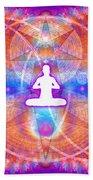 Cosmic Spiral Ascension 15 Bath Towel