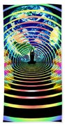 Cosmic Spiral Ascension 16 Bath Towel