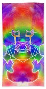 Cosmic Spiral Ascension 17 Bath Towel
