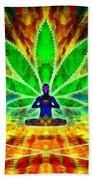 Cosmic Spiral Ascension 34 Bath Towel