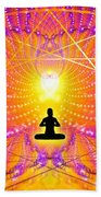 Cosmic Spiral Ascension 57 Bath Towel