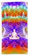 Cosmic Spiral Ascension 60 Bath Towel