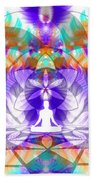 Cosmic Spiral Ascension 61 Bath Towel