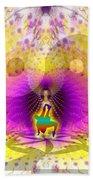 Cosmic Spiral Ascension 62 Bath Towel