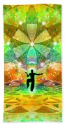 Cosmic Spiral Ascension 66 Bath Towel