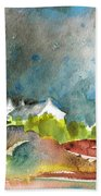 Cottages In Brittany Bath Towel