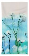 Cotton Poppies Hand Towel