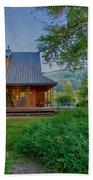 Cottonwood Cottage At Sunset Bath Towel