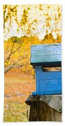 Country Letterbox Bath Towel