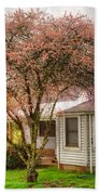 Country Pink Bath Towel