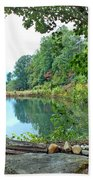 Country Pond Bath Towel